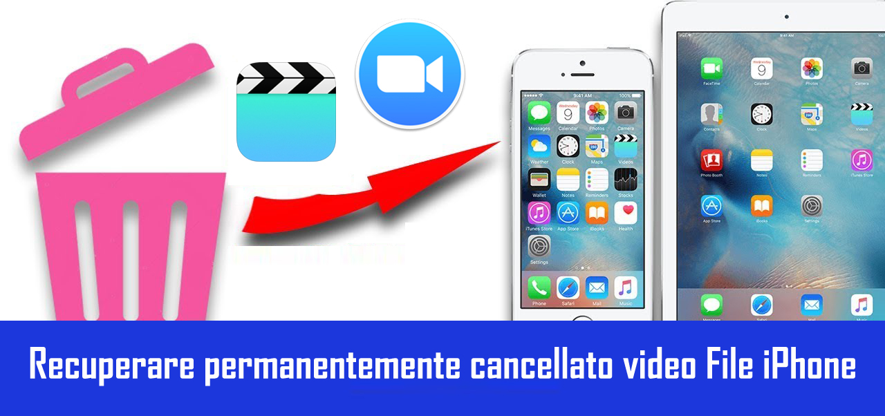 Ristabilire Permanentemente eliminata video iPhone