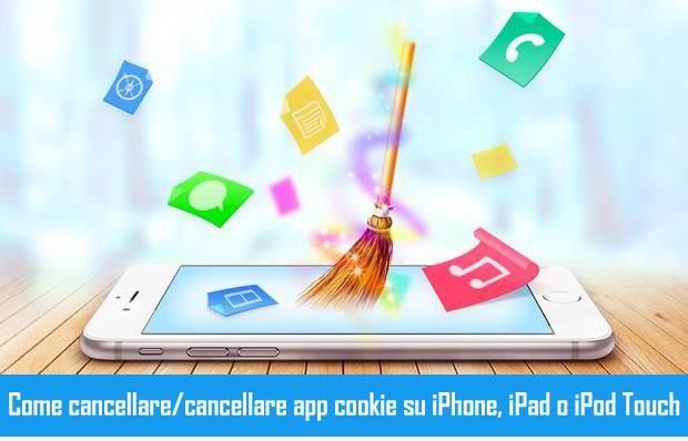 Chiaro Cookie di app su iPhone